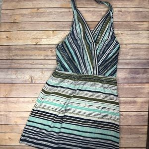 ATHLETA Go Anywhere mini halter dress